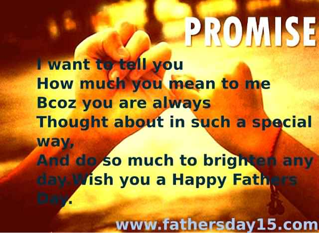 Wish You A Happy Father's Day Greetings Quotes Image