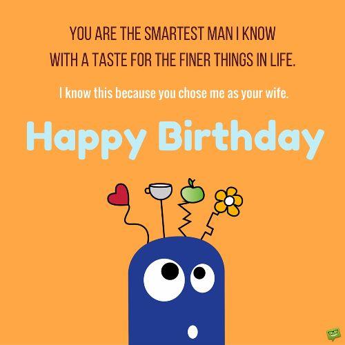 Wish You A Very Happy Birthday My Dear Husband Wishes Image