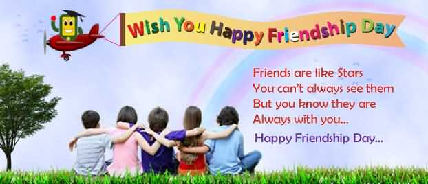 Wish You Happy Friendship Day Greetings Quotes Image