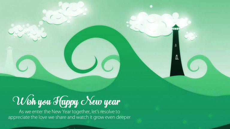 Wish You Happy New Year Wishes Message Image