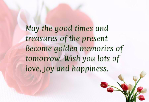 Wish You Lots Of Love And Happiness