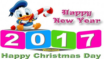 Wish You To All Happy New Year 2017 Happy Christmas Day Wishes Image