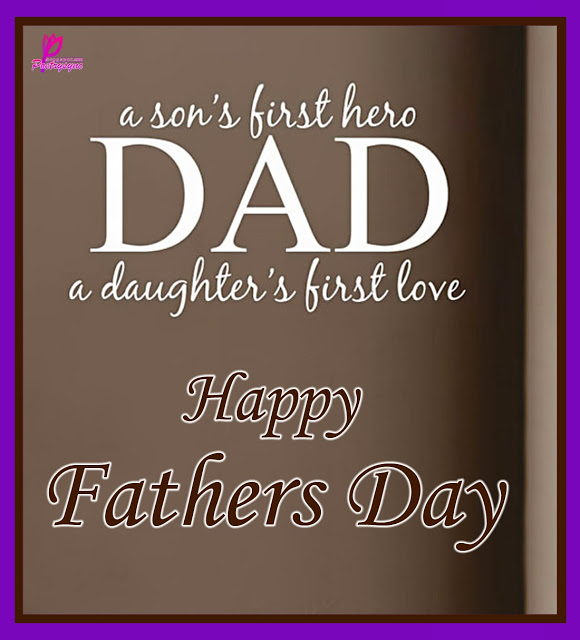 Wishes On Happy Father's Day Image