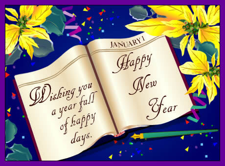 Wishing You A Happy New Year Wishes Image
