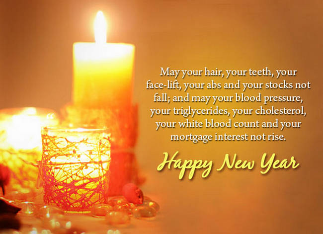 Wishing You A Very Happy New Year Greetings Message Image