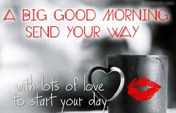 With Lots Of Love Good Morning Wishes Image