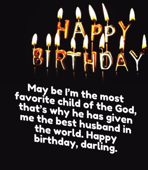 Wonderful Happy Birthday Darling Wishes Image