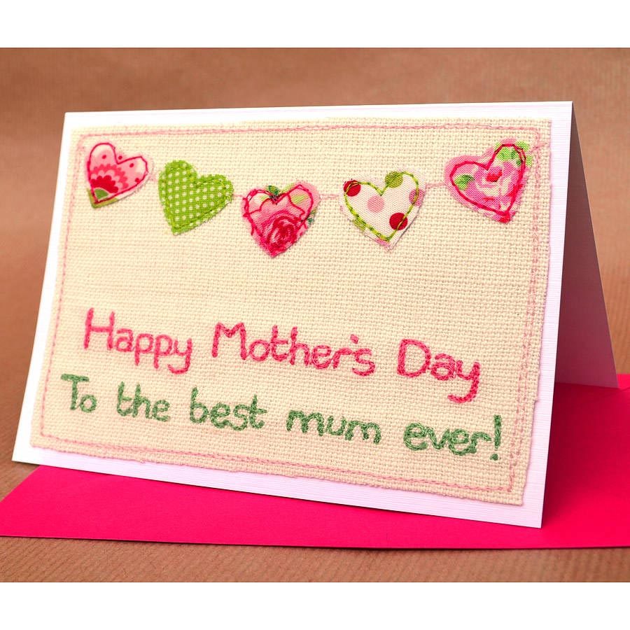 Wonderful Happy Mothers Day Card Message Image