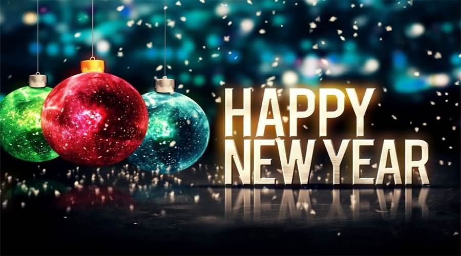 Wonderful Happy New Year Greetings To Everyone