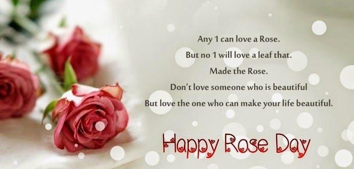 Wonderful Rose Day Wishes Image