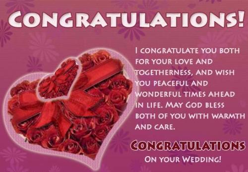 Wonderful Wedding Quotes & Greeting Image