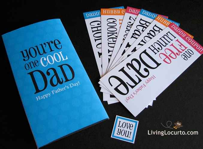 You're One Cool Dad Happy Father's Day Cards