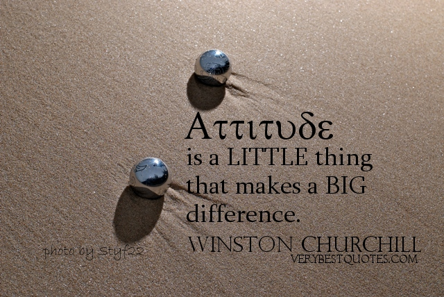 Inspirational Attitude Quotes