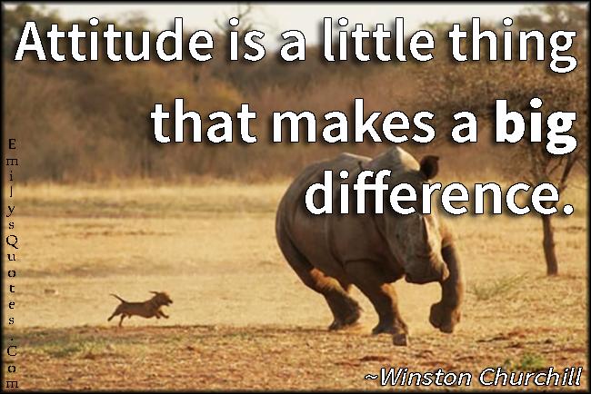 Short Attitude Quotes  050
