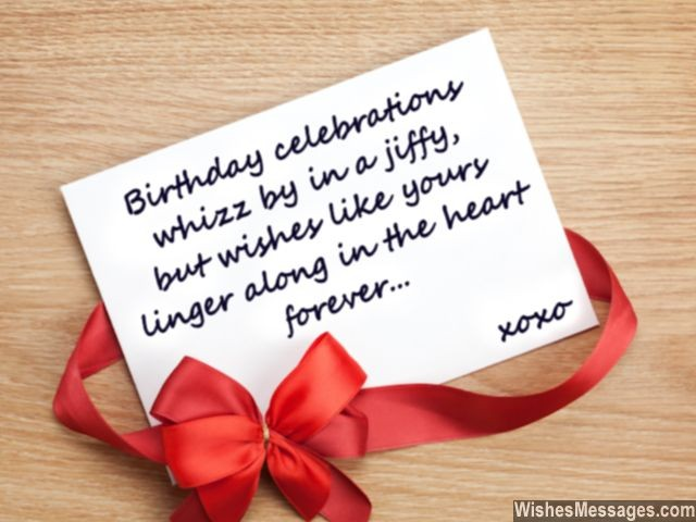 birthday celebrations whizz by in a jiffy, but wishes like your linger along in the heart forever...