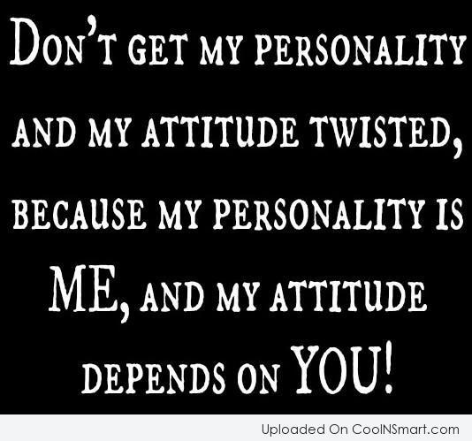 Short Attitude Quotes 010