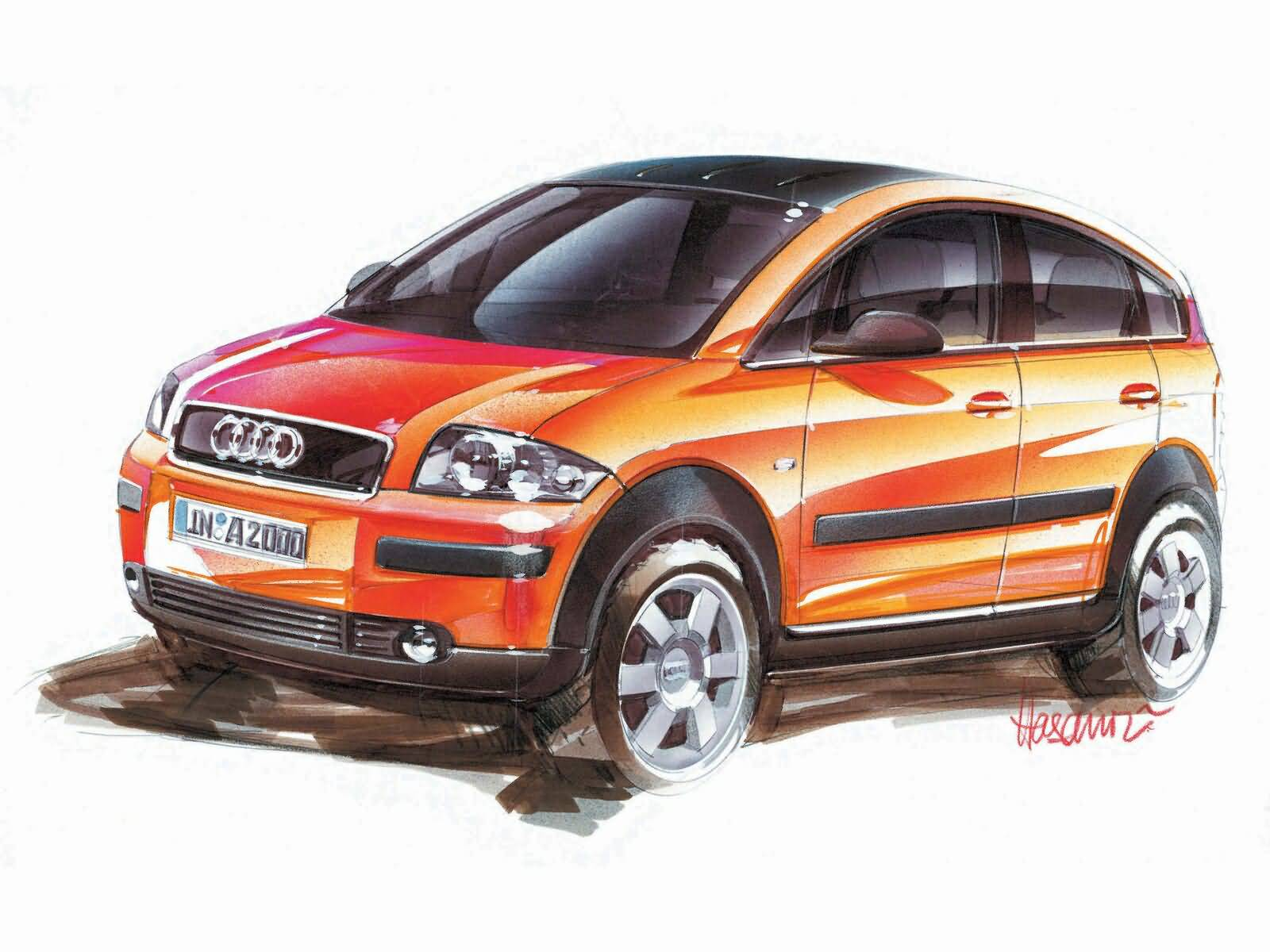 latest Audi A2 Car