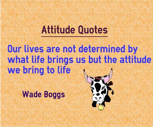 Short Attitude Quotes  039