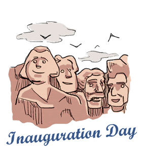 45th President Inauguration Day Donald Trump Image