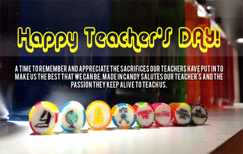 A Time To Remember And Appreciate Happy World Teacher's Day Quotes Message Image