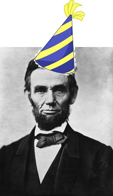Abraham Lincoln Happy Birthday Meme Image