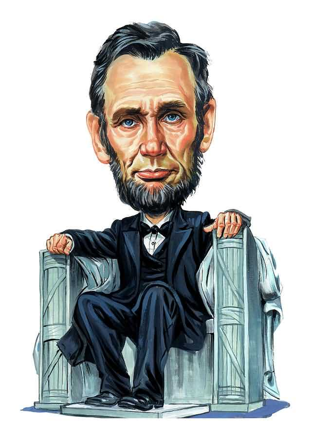 Abraham Lincoln Special Birthday Art Image