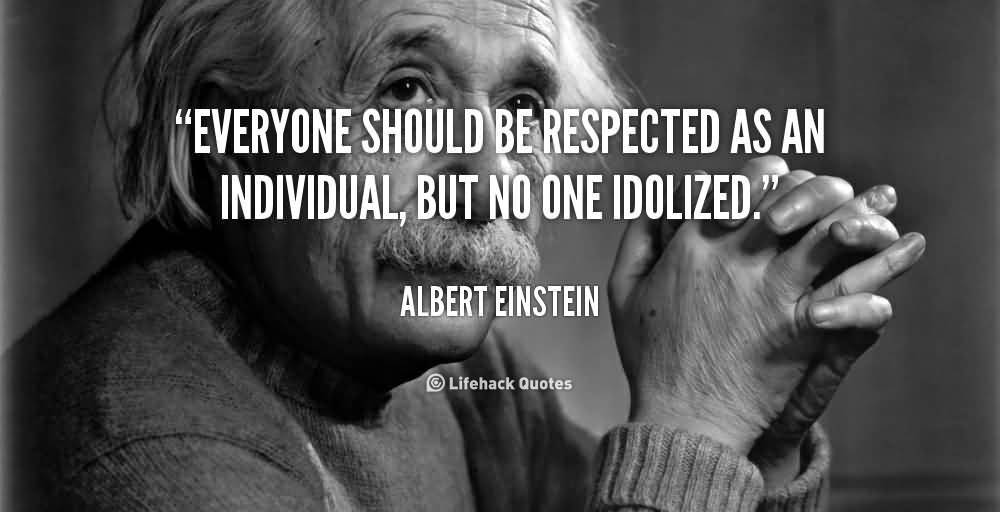 a paper on albert einstein and his quote on the mysterious