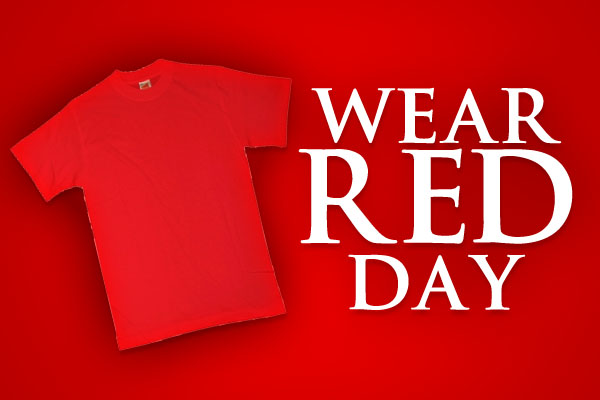 Amazing National Wear Red Day Images