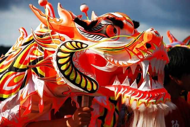 Amazing Red Dragon Chinese New Year Wikipedia Image