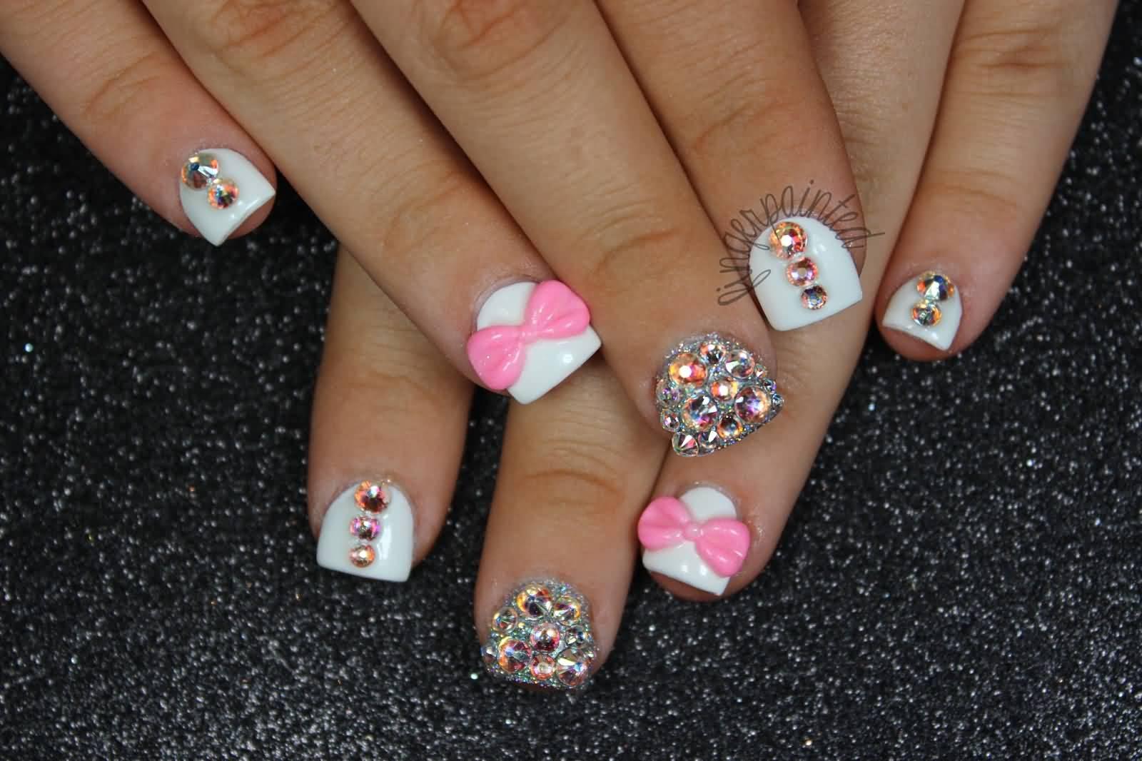 Colorful Acrylic Hump Nails Inspiration - Nail Art Design Ideas ...