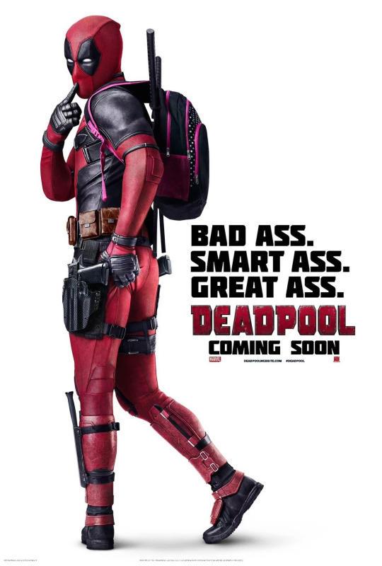 Bad Ass Smart Ass Great Ass Deadpool Meme