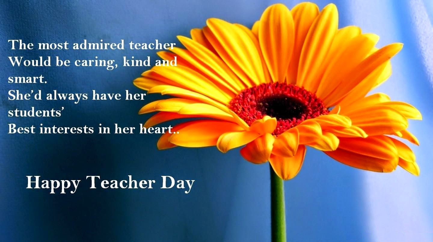 Beautiful Quotes On World Teacher's Day Wishes Image