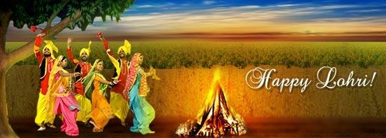 Best Cover Happy Lohri Image For Facebook