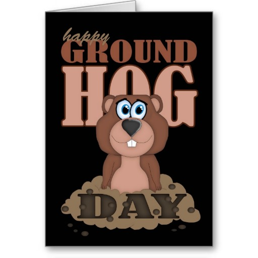 Best Greetings Card On Happy Groundhog Day Wishes Image