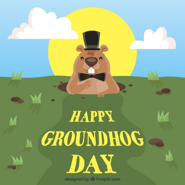 Best Happy Groundhog Day Wishes Image