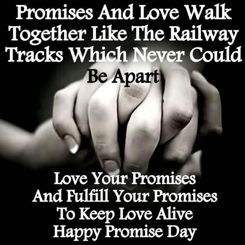 Best Quotes On Happy Promise Day Image