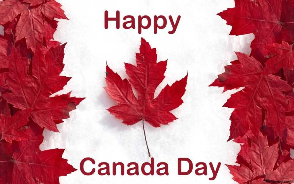 Best Wishes Happy Canada Day Wallpaper