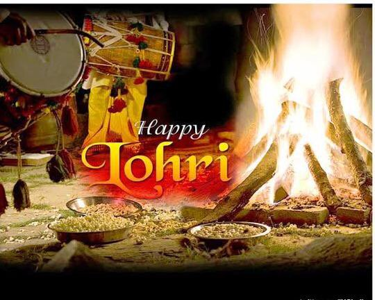 Best Wishes Happy Lohri Greetings Picture
