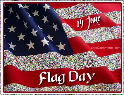 Best Wishes Have A Wonderful Flag Day Greetings Image