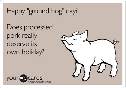 Best Wishes Message On Happy Groundhog Day Image
