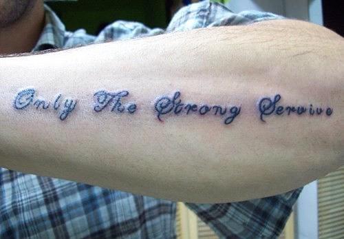 Brilliant Homemade Tattoo Design For Boys