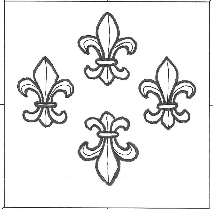 Brilliant Set Of Fleur De Lis Tattoo Designs For Boys And Girls