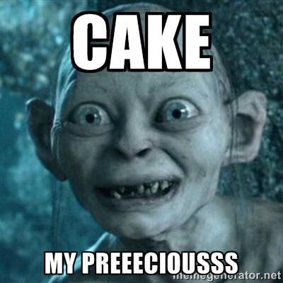 Cake My Precious Meme Photo