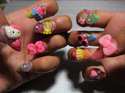 Cutest Toy Nail Art 3D Rose Flower Nail Art