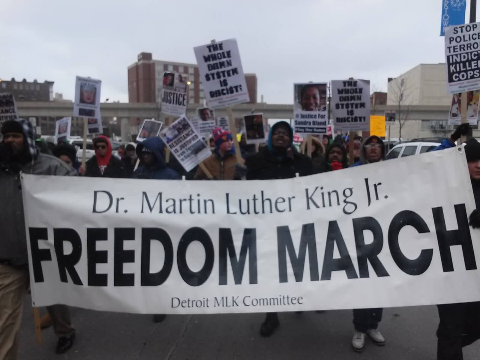 Dr. Martin Luther King Jr Day Freedom March