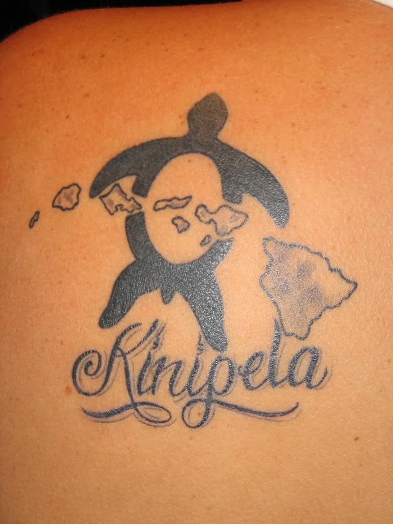 Extremely Hawaiian Islands Tattoo For Boys