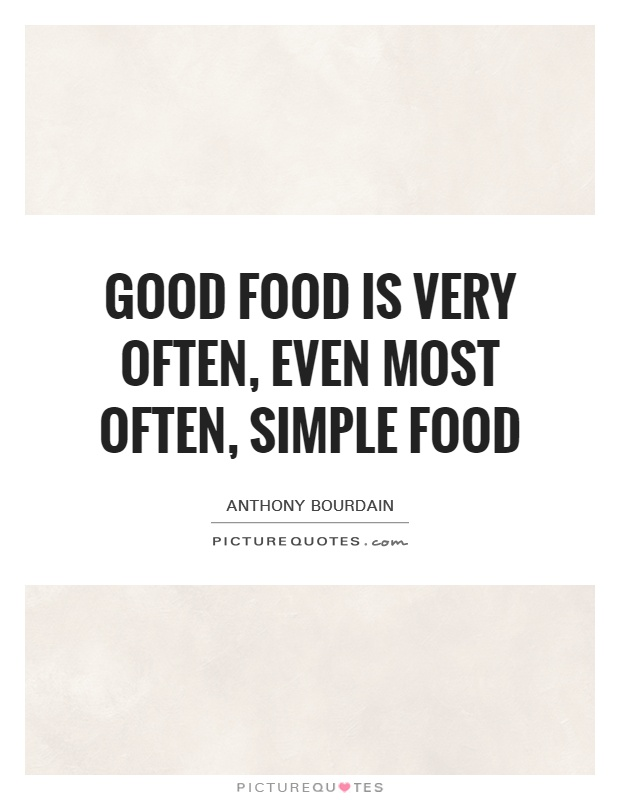 Food Quotes and Sayings 24