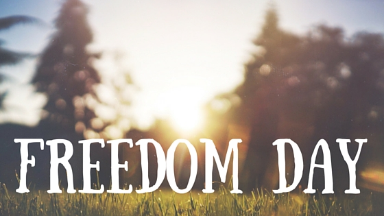 Freedom Day Greetings Message Image