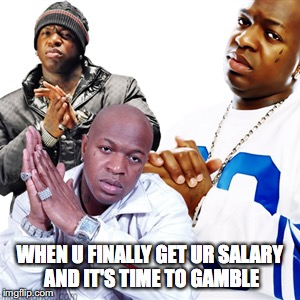Funny Birdman Memes When U Finally Get Ur Salary And It's Time To Gamble Photo