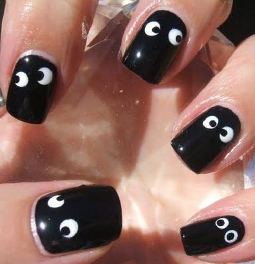 60 Most Trending Black Nail Art Design Styles Ideas Picsmine